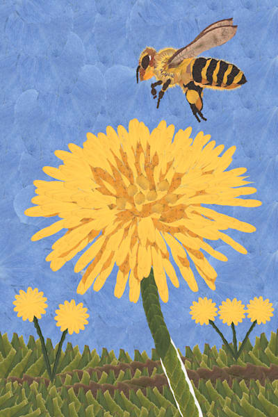 The Bee & The Dandilion Art | smacartist