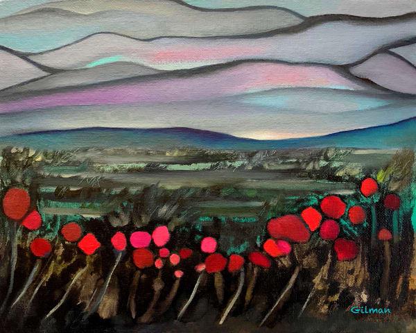 Poppies Rejoice   Puzzle Art   Emily Gilman Beezley LLC