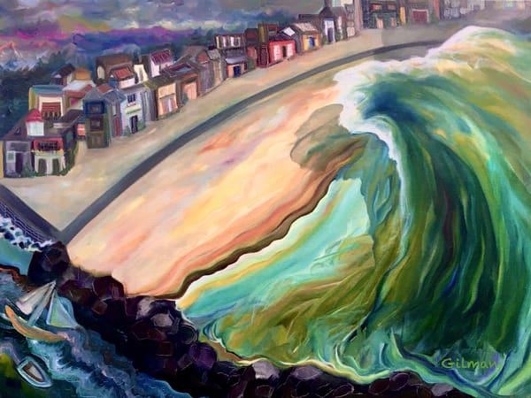 Manasquan Dream Wave   Puzzle Art   Emily Gilman Beezley LLC