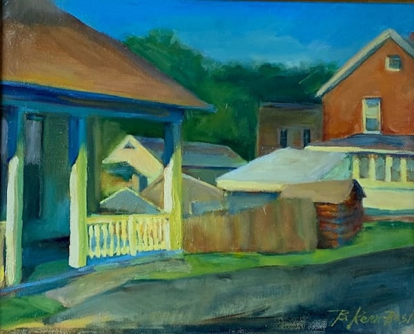 Across The Alley Art | Bkern Fine Art