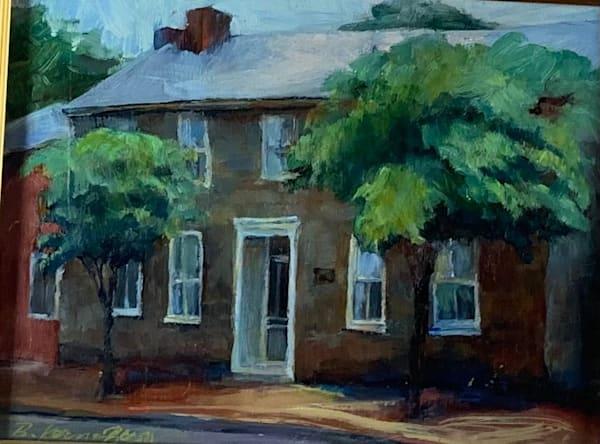 Rebecca Haden Stone House Museum Art | Bkern Fine Art