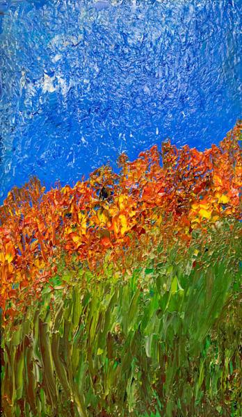 Hillside Flowers Art | Mid-AtlanticArtists.com