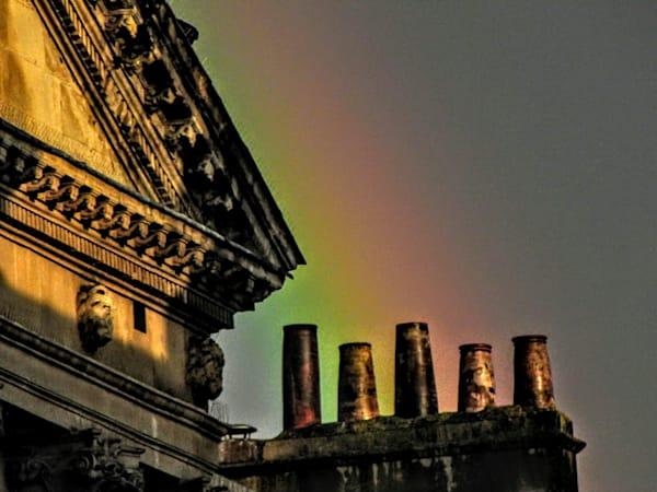 Rainbow & Mist Over Bath, England Number One Photography Art | Photoissimo - Fine Art Photography