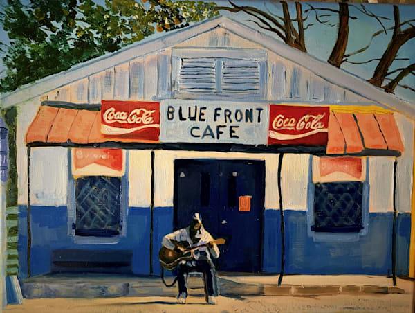 Saturday Afternoon Blues Art | Scott Dyer Fine Art