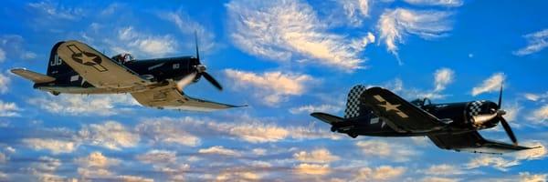 Wingman Panorama Photography Art | Ken Smith Gallery