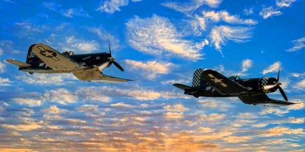 Wingman Semi Panorama Photography Art | Ken Smith Gallery