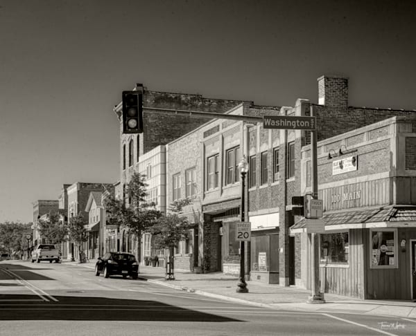 Main Street, West Chiago, Illinos, 2021