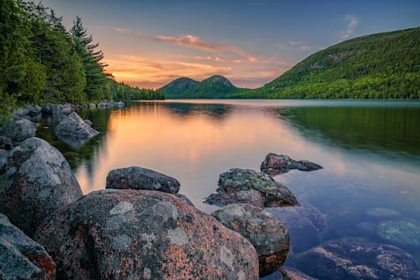 Spring Twilight at Jordan Pond | Shop Photography by Rick Berk