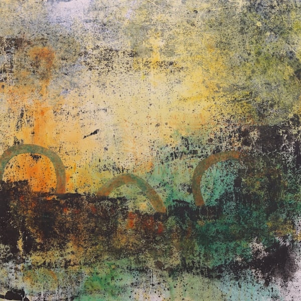Archways - Original Abstract Painting | Cynthia Coldren Fine Art