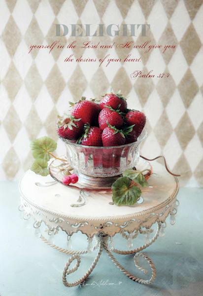 Embellished Strawberries Delight  Art | RHONDA ADDISON Fine Art Photography