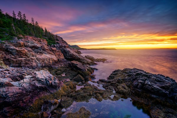 Morning Glow from Otter Cliff | Shop Photography by Rick Berk