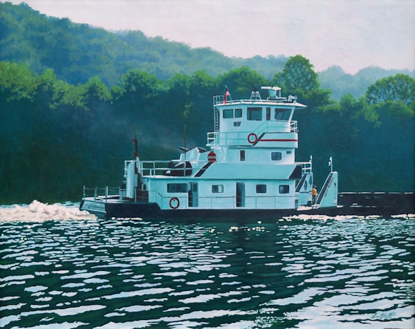 The Dotty Johnson - oil painting by Erin Pyles Webb