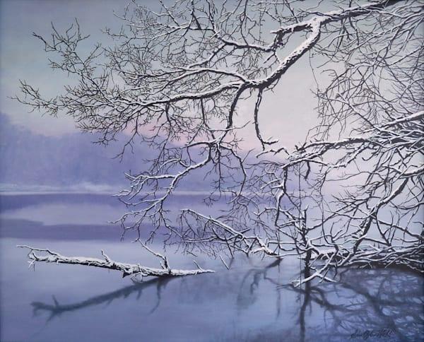 Monongahela - Stillness oil painting by Erin Pyles Webb