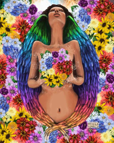 Blooming Pride Art | Priscila Soares - MyLuckyEars
