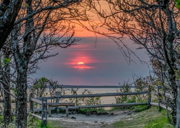 Great Rock Bight Sunset Overlook Art | Michael Blanchard Inspirational Photography - Crossroads Gallery