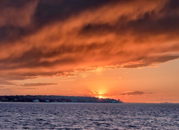 West Chop Sunset Clouds Art | Michael Blanchard Inspirational Photography - Crossroads Gallery
