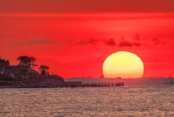 West Chop Summer Sun Art   Michael Blanchard Inspirational Photography - Crossroads Gallery