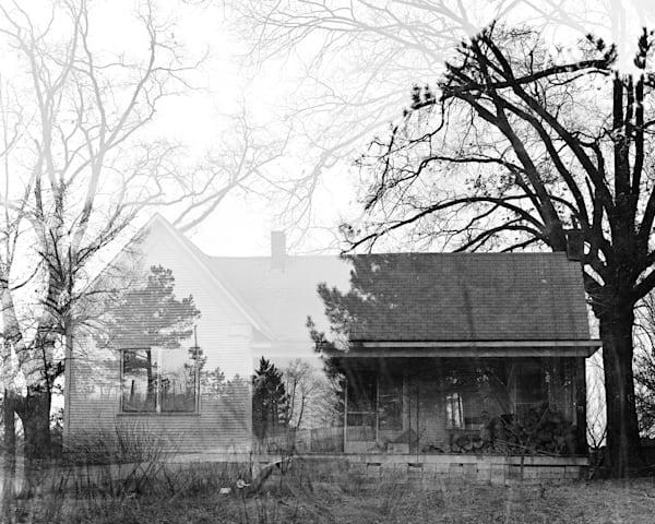 Arkansas Ghost House Photography Art   TERESA BERG PHOTOGRAPHY