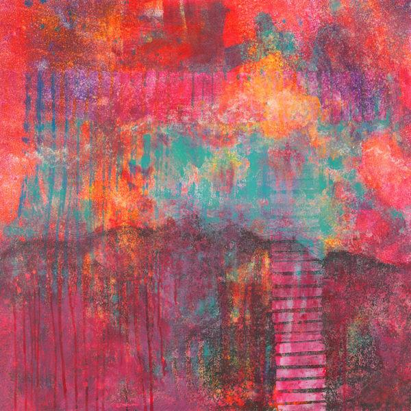 Euphoria - Original Abstract Painting | Cynthia Coldren Fine Art