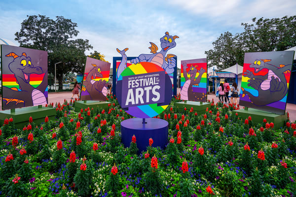 Five Figments at Taste of Epcot Festival of the Arts - Disney Prints