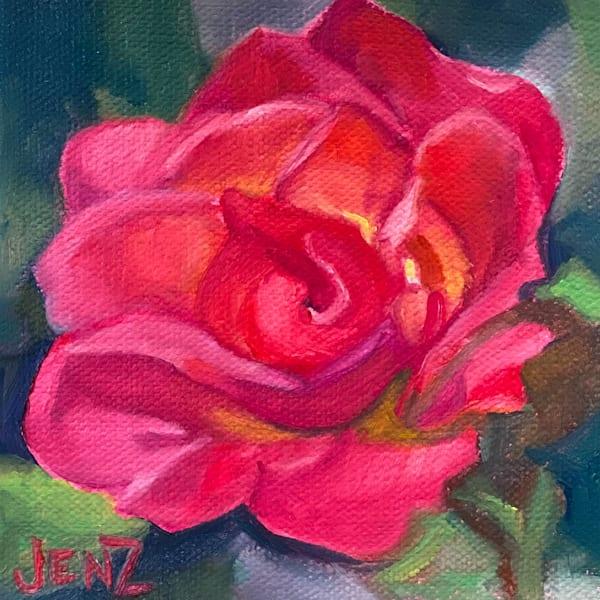 Knockout Rose Art   Jennifer Zardavets Art