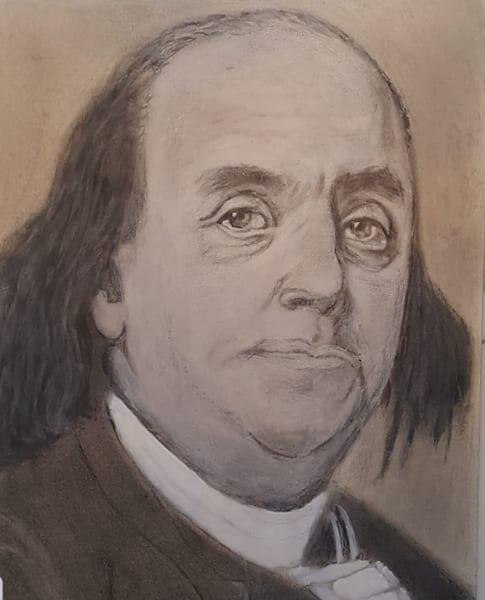Benjamin Franklin Art   Salvatore Ingoglia / Jbellarts