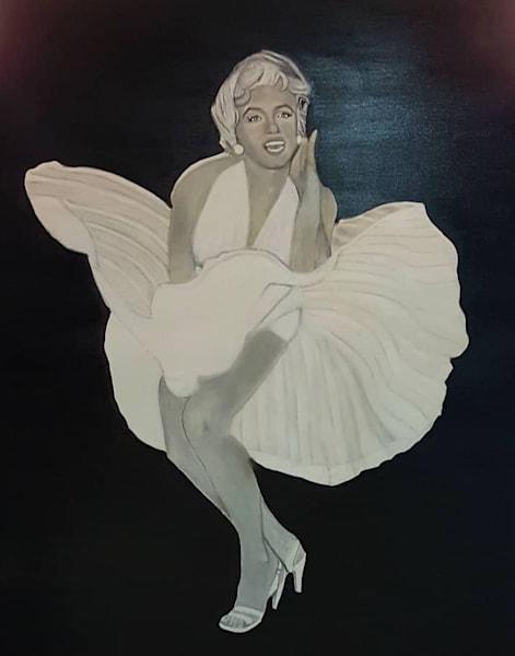 Marilyn Monroe Art   Salvatore Ingoglia / Jbellarts