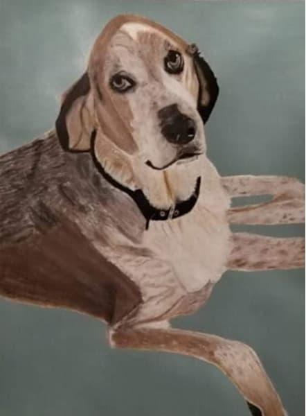 Dog Painting Art | Salvatore Ingoglia / Jbellarts