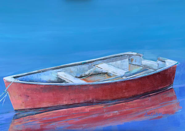 Reflections In Red Photography Art | The Colors of Chatham