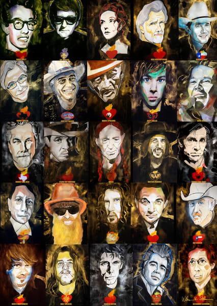 Texas Musicians Art | William K. Stidham - heART Art