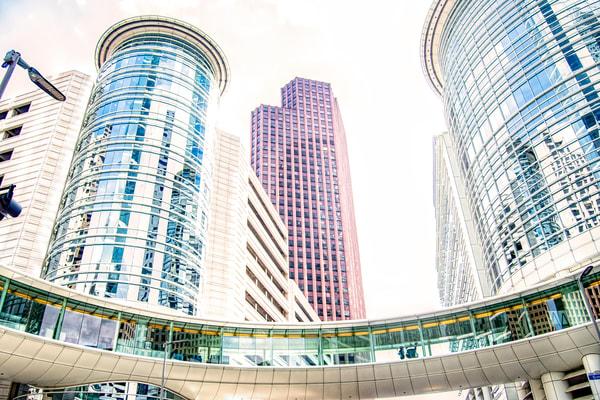 Chevron Corp Skywalk At Allen Center Houston Tx Dsc 1393 Photography Art   Terri Bahun Fine Art Photography