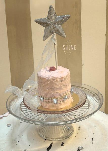 Sparkly Pink Cake