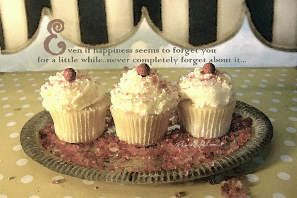 Sparkly Cupcakes Happiness Art