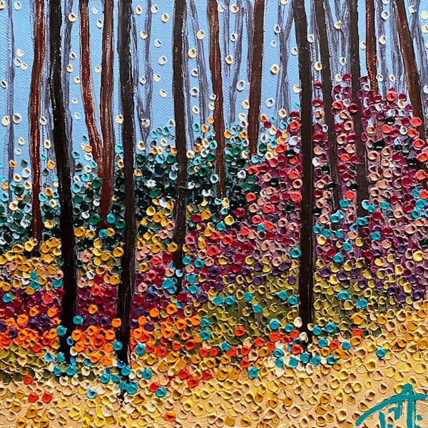Walk With Me   Oil Embellished Giclée #1 Art | Tessa Nicole Art