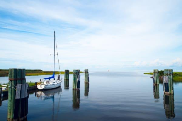 Pro Photo Va Rodanthe Sail Boat 1 Photography Art | Professional Photography of VA LLC