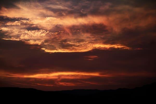 Sky On Fire Photography Art | Sydney Croasmun Photography