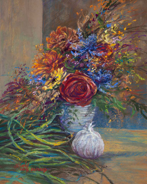 Lindy Cook Severns Art | Fall Colors the Kitchen, print