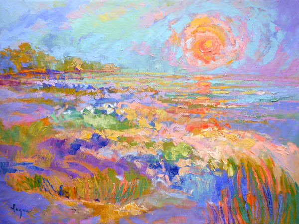 This Side Of Tomorrow  Art   Dorothy Fagan Joy's Garden