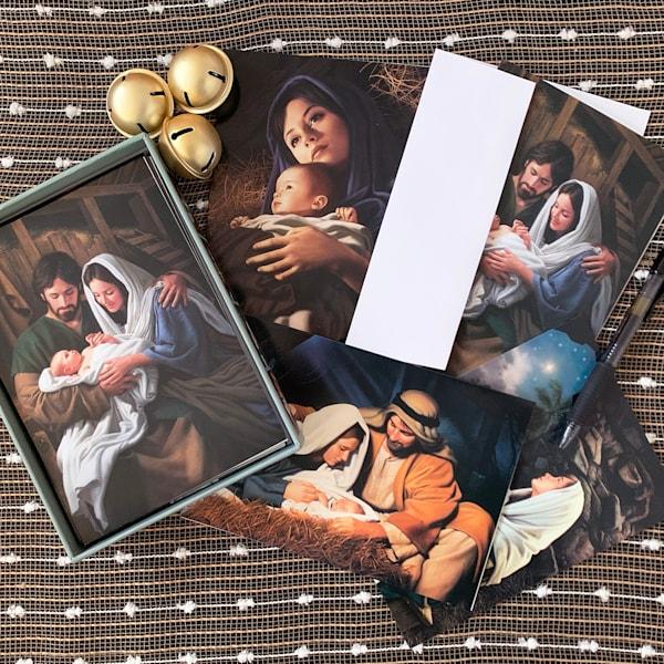 Simon Dewey Christmas Greeting Card Box | Cornerstone Art