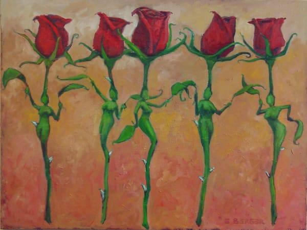 Dancing Flowers Art   Mid-AtlanticArtists.com
