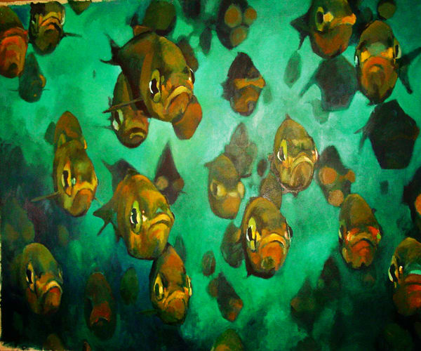 Fish Painting Art   Mid-AtlanticArtists.com