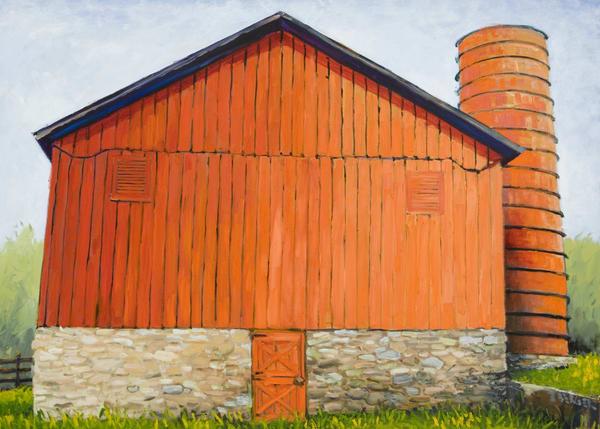 Barn Art   Mid-AtlanticArtists.com