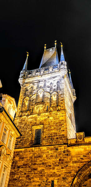 Charles Bridge Tower Up Close And Personal In Prague Photography Art   Photoissimo - Fine Art Photography