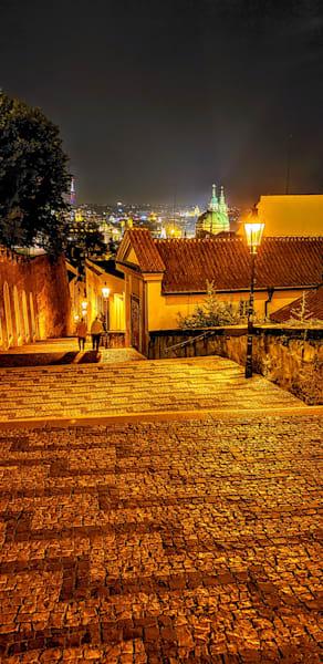 A Couple Heading Home In Prague Photography Art   Photoissimo - Fine Art Photography