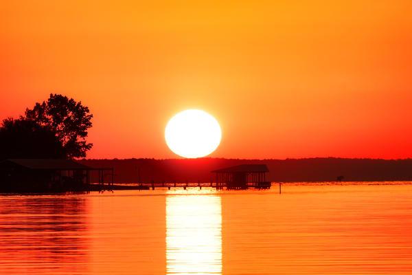 Sun-kissed Toledo Bend - Sunset fine-art photography prints