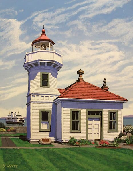 Mukilteo Lighthouse Art | Fountainhead Gallery