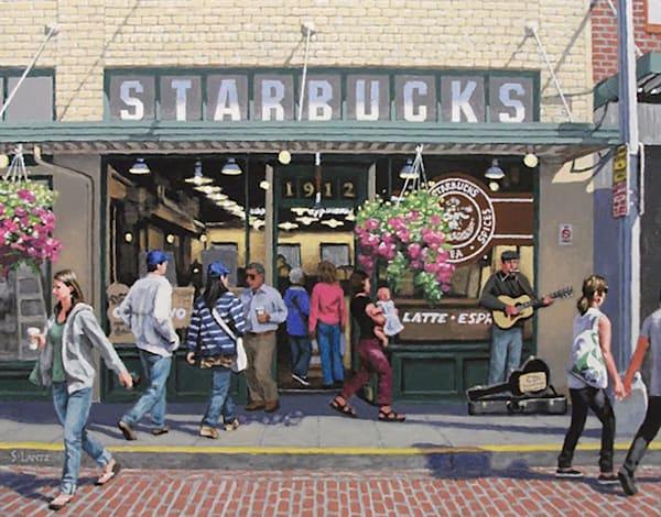 The Original Starbucks Art | Fountainhead Gallery