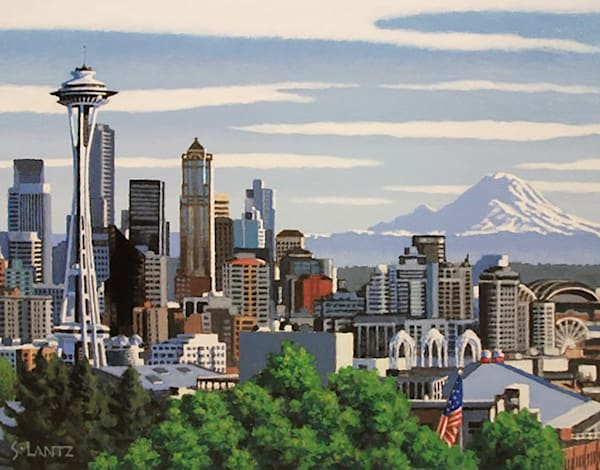 View From Kerry Park Art | Fountainhead Gallery