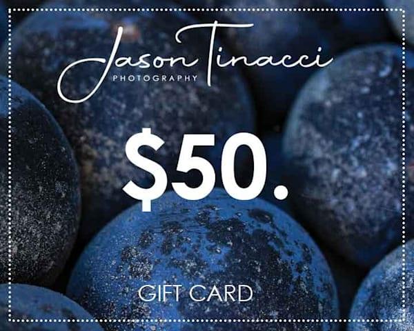 $50 Gift Card | Jason Tinacci Photography