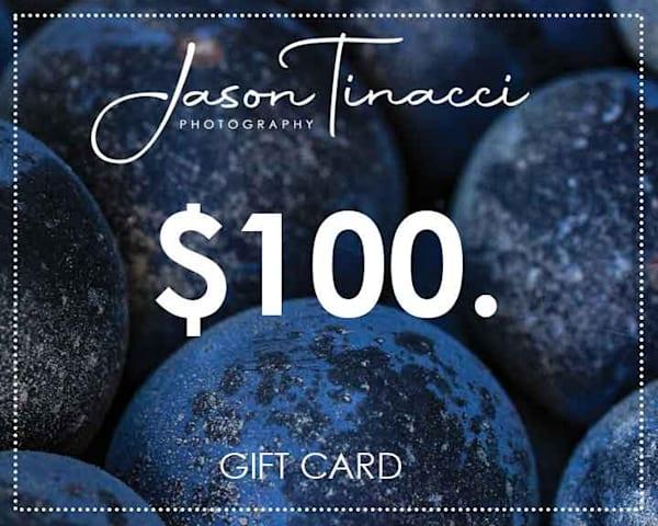 $100 Gift Card | Jason Tinacci Photography
